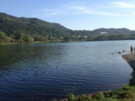 Un tuffo al Lago di Revine