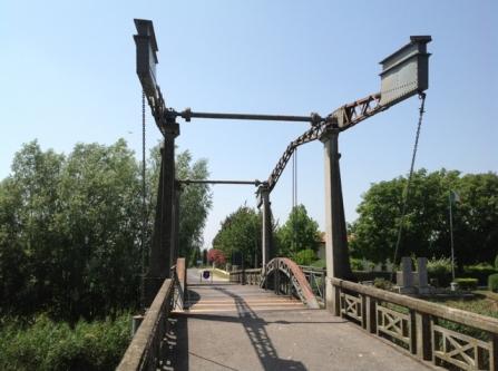 Il Ponte a bilanciere di Caposile