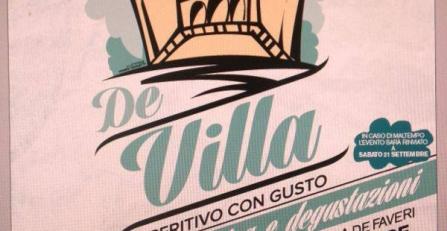 """La grande festa """"De Villa""""!"""