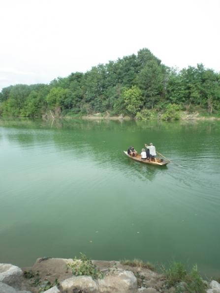 Il passo barca tra Zenson e Romanziol