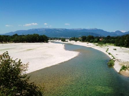Panorama del Piave a Vidor