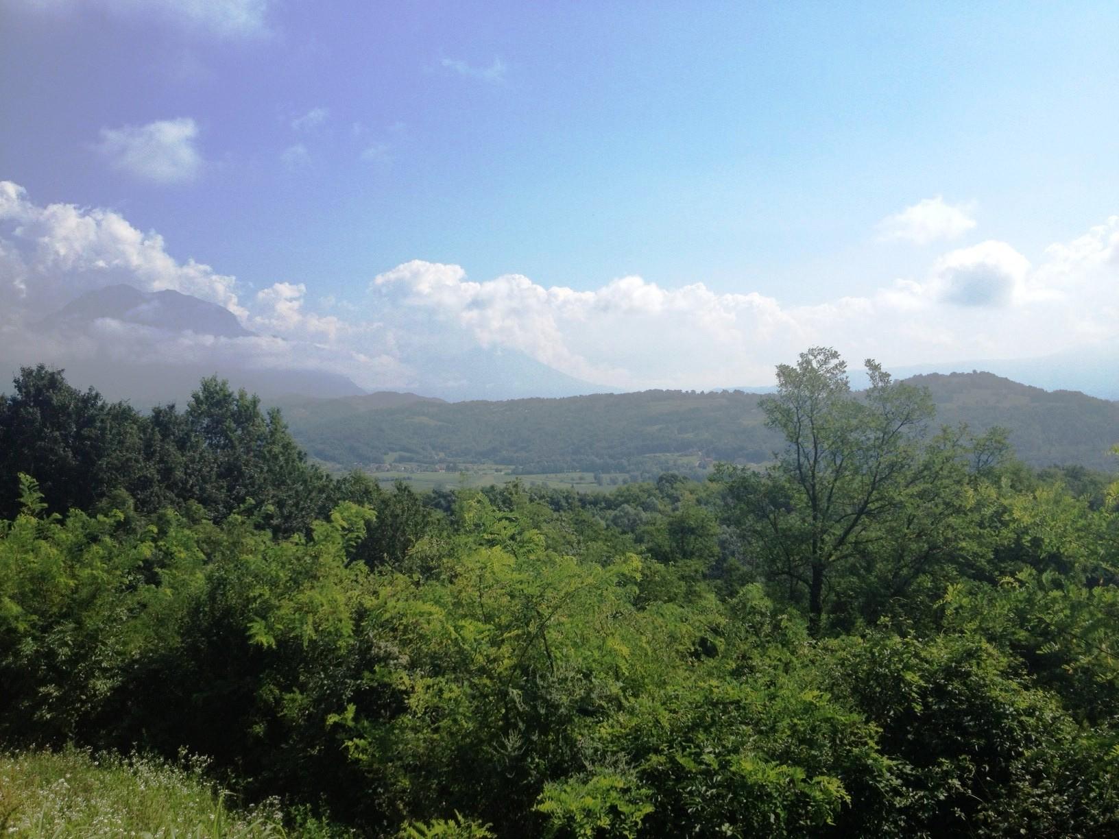Il panorama della Valbelluna