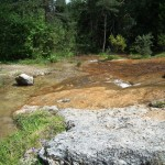 Tra rocce e acque limpide e solforose