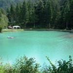 Il lago per la pesca sportiva