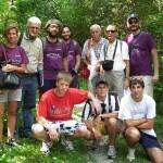 Foto di gruppo con gli amici di Ponte nelle Alpi