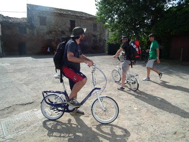 In bicicletta a Lio Piccolo
