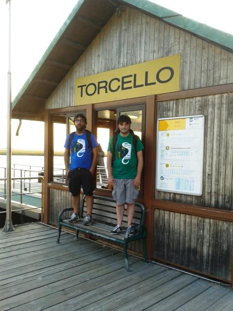 L'arrivo a Torcello