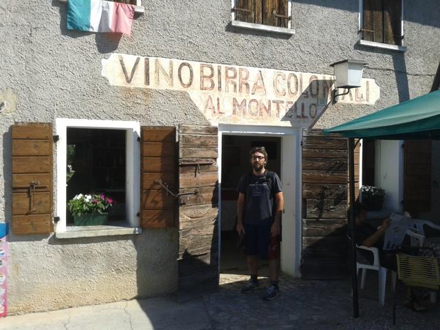 Una vecchia osteria a Ciano del Montello
