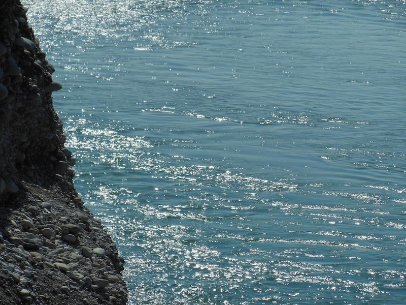Le limpide acque della Piave a Colfosco (TV). Foto di Giovanni Coletti