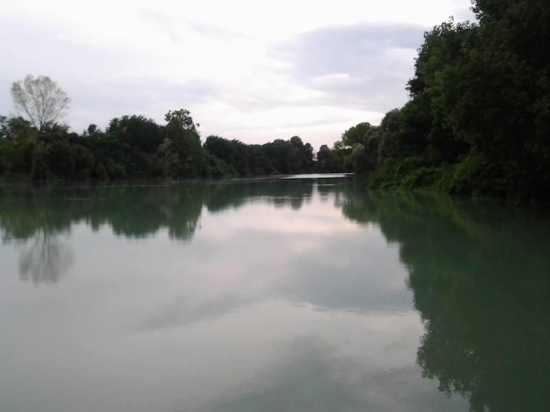 Il nostro fiume, le nostre origini, le nostre radici, parte essenziale delle nostre anime, sempre e comunque Razza Piave! Foto di Simone Scompa