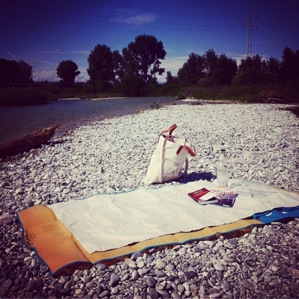 Only me and the river. Foto di Elena Mattiuzzo