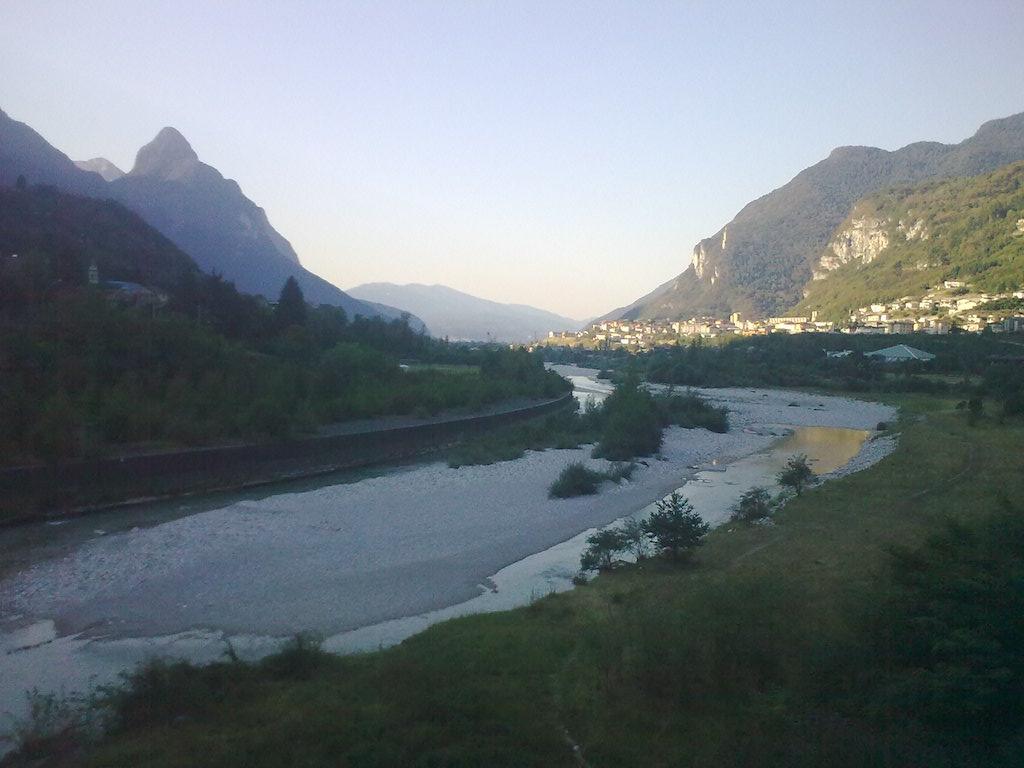 Luci del mattino sul Piave. Foto di Luca Casarin