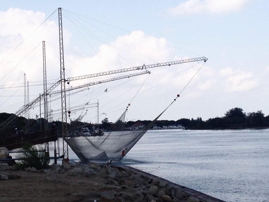 Pesca sul Piave. Foto di Manuel Tonel