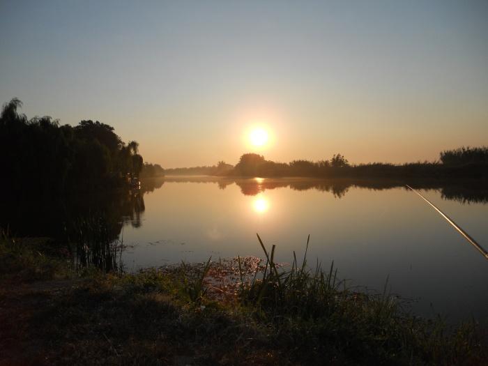 Il Piave al tramonto. Foto di Antonio Rosin