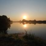 Il Piave al tramonto_Antonio Rosin
