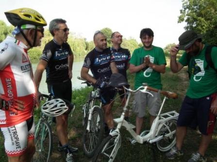 Con gli amici di Magica Bike
