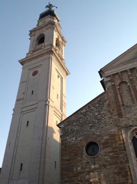 A passeggio nel centro storico di Belluno