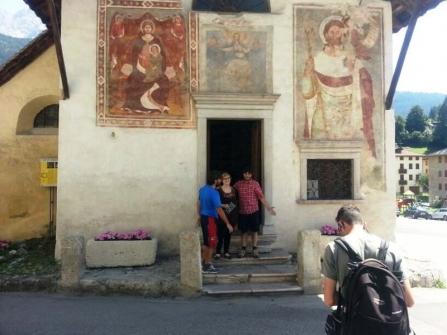 La Chiesa di Sant'Orsola a Vigo di Cadore