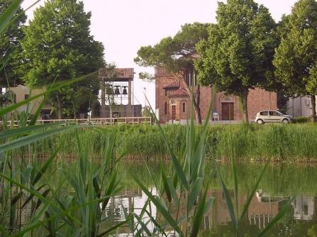 Il Piave a Chiesanuova (VE). Foto di Giorgio Fregonese