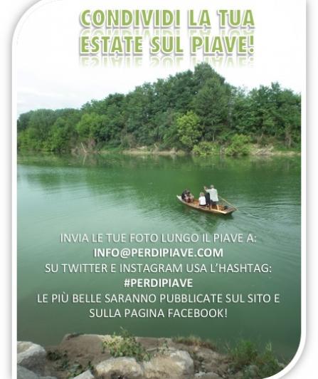 Condividi la tua estate sul Piave!