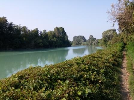 Passeggiata lungo il Piave sul tratto che va da San Donà a Noventa di Piave. Foto di Filippo Sinibaldi